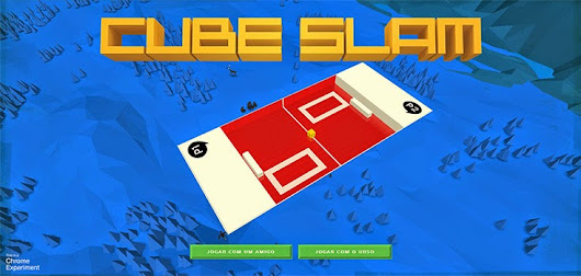 CUBE SLAM - O JOGO ESTILO PONG DO GOOGLE CHROME