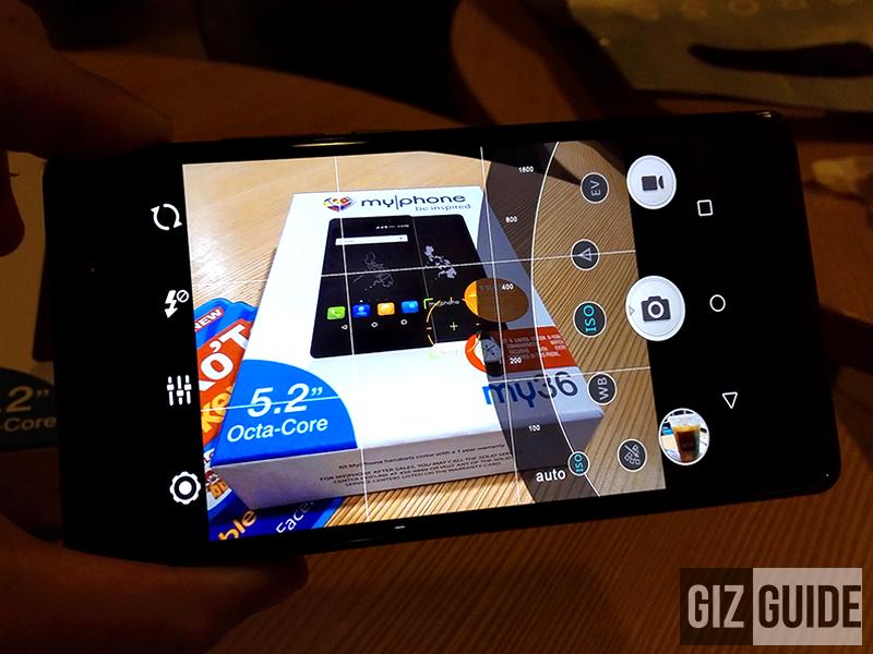 MyPhone My36 manual camera interface
