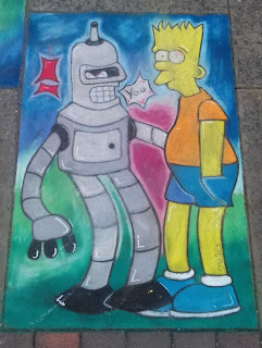 Clearly not Bender Bending Rodríguez or Bartholomew Simpson