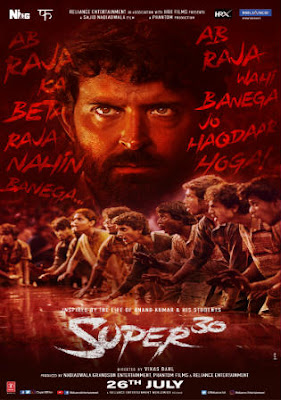 Super 30 2019 Hindi Movie Pre-DVDRip 450Mb Download