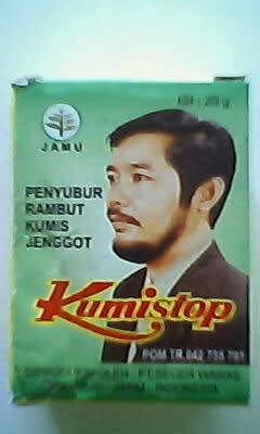 Jual Obat KUMISTOP Penumbuh Rambut Jenggot Kumis dan Jambang.