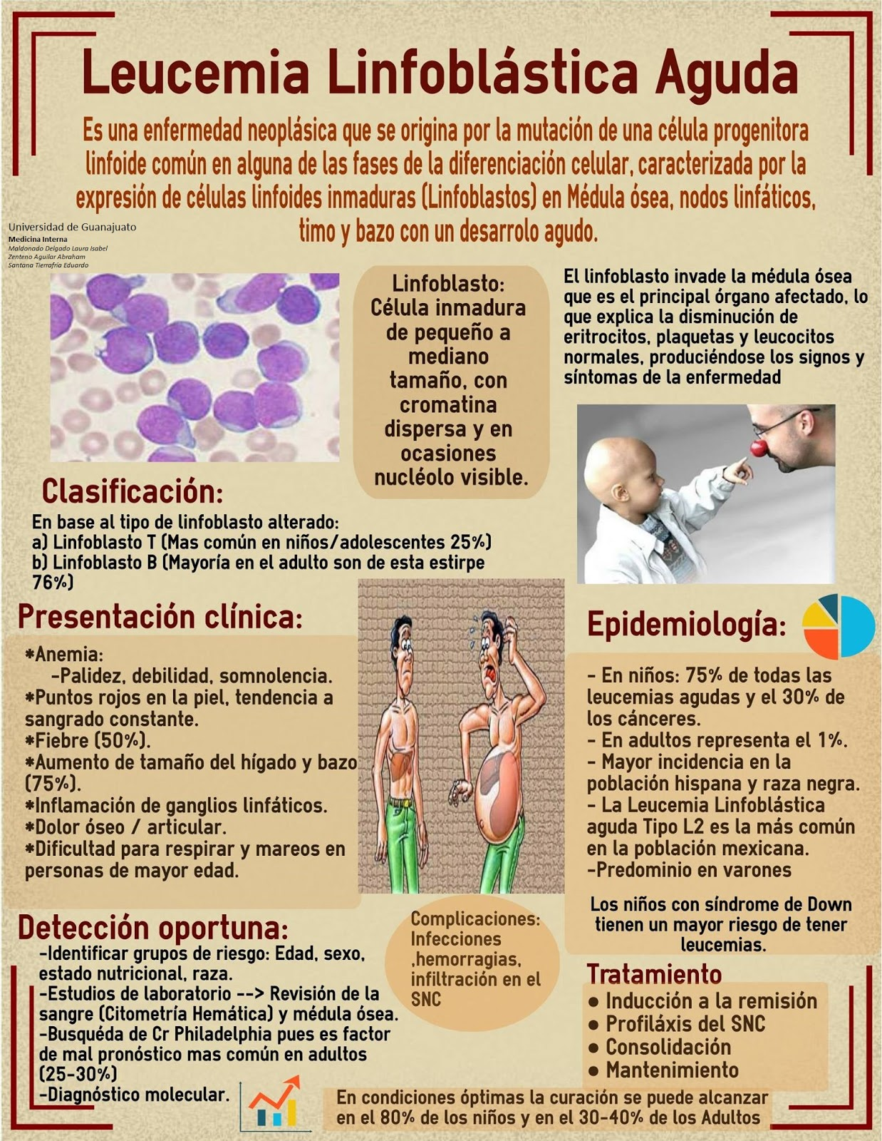 Leucemia que linfoblastica la causa