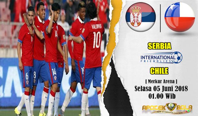 Prediksi Serbia vs Chile 5 Juni 2018