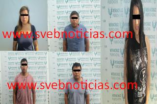 Presentan ante un juez a 5 detenidos en un motel de Coatzintla Veracruz