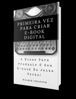 Primeira Vez Para Criar E-book Digital