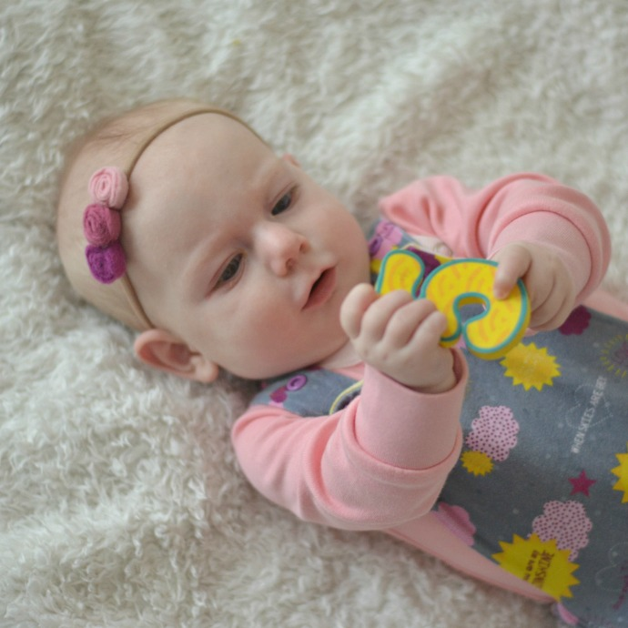 The Adventure Of Parenthood: 5 Months Baby Girl