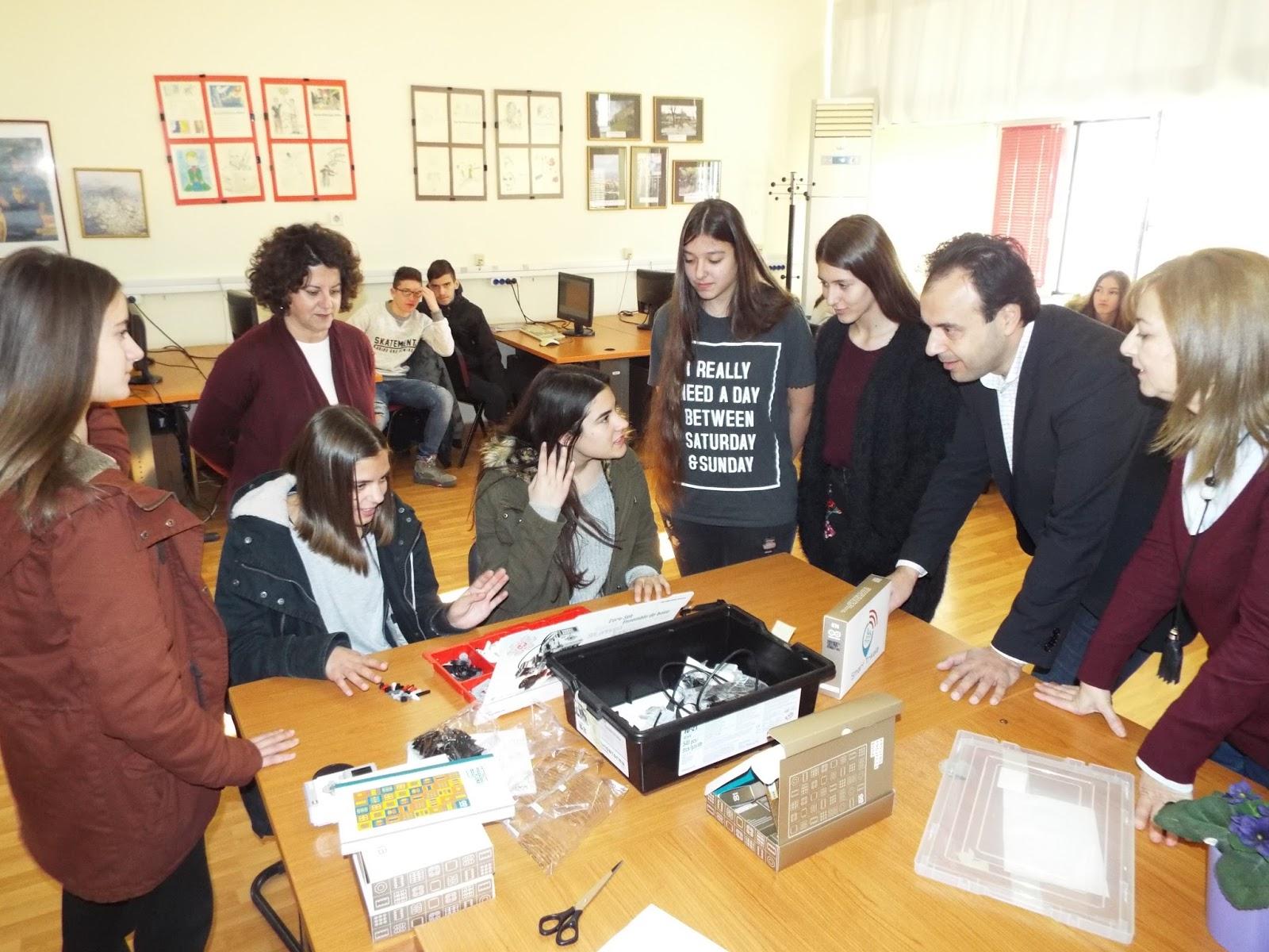 Η ρομποτική στα σχολεία του Δήμου Τρικκαίων (ΦΩΤΟ)