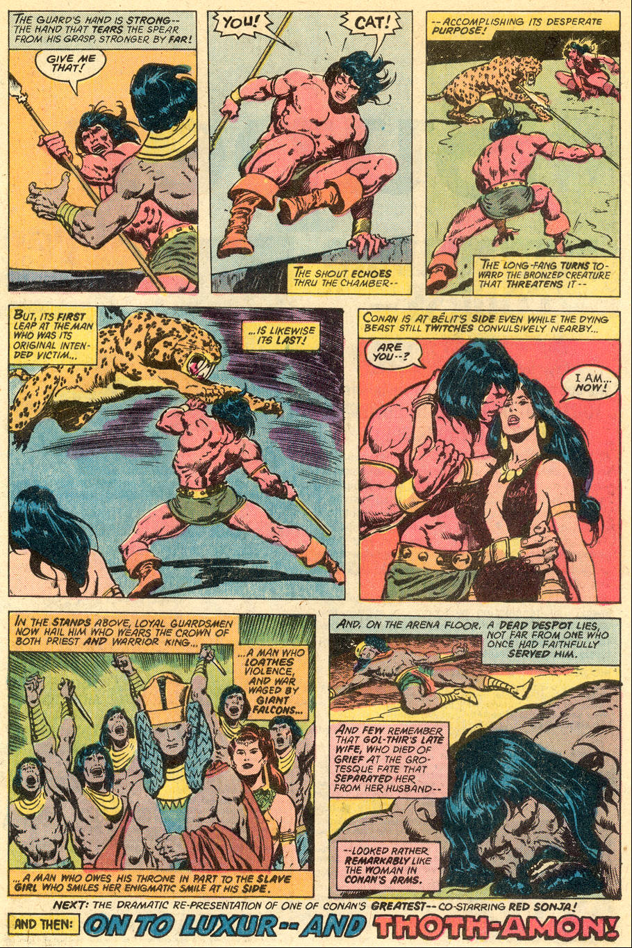 Conan the Barbarian (1970) Issue #77 #89 - English 18