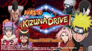 Naruto Shippunden Kizuna Drive Game !