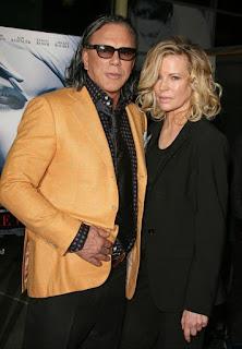 Mickey Rourke y Kim Basinger, reunidos 23 años después de 'Nueve semanas y media' (2009)