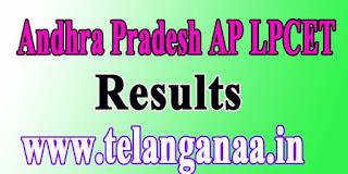 Andhra Pradesh LPCET APLPCET 2016 Exam Results