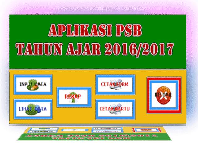 Unduh File  AplikasiPPDB Tahun Ajar 2016/2017 Gratis