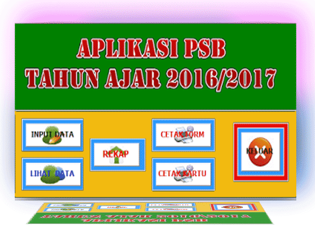 Download File Aplikasi PPDB Tahun Ajaran 2016/2017 Gratis