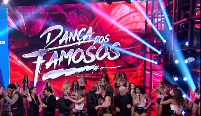 Estreou nesse domingo a nova temporada da Dança dos Famosos 2017