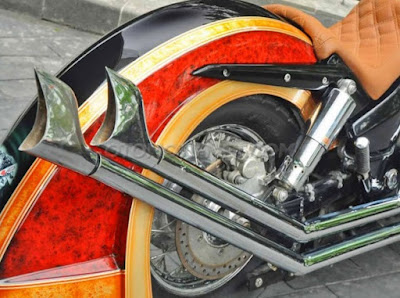Modifikasi Honda VTX 1300