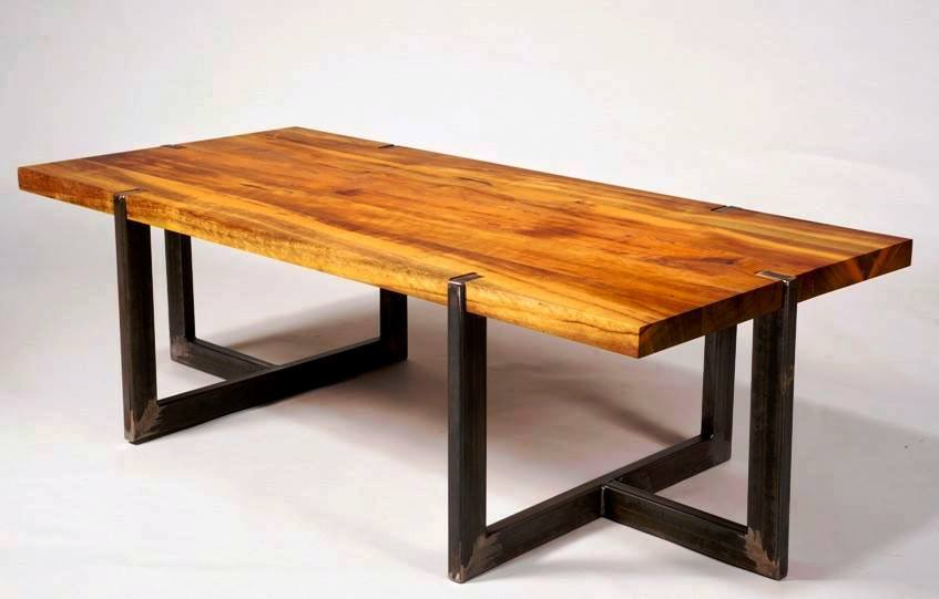 Furniture Ideas Combine Metal And Wood