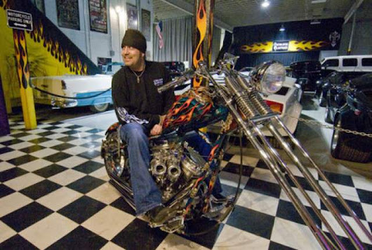 Danny Koker Building Bikes and Collecting Cars are Labors of Love