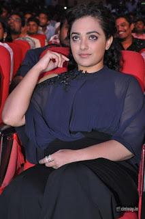 Nithya Menon Stills at Janatha Garage Audio Launch