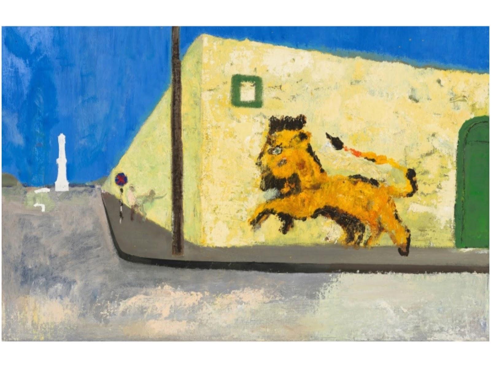 Street Scene, Peter Doig