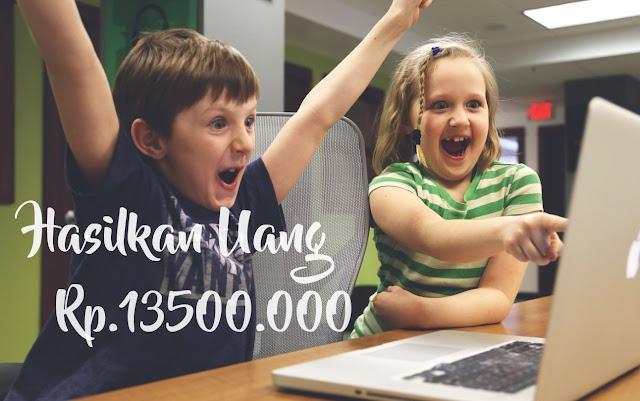 Cara Mendapatkan Uang Sebesar US$1000 atau Setara Rp.13500.000 Tanpa Invenstasi