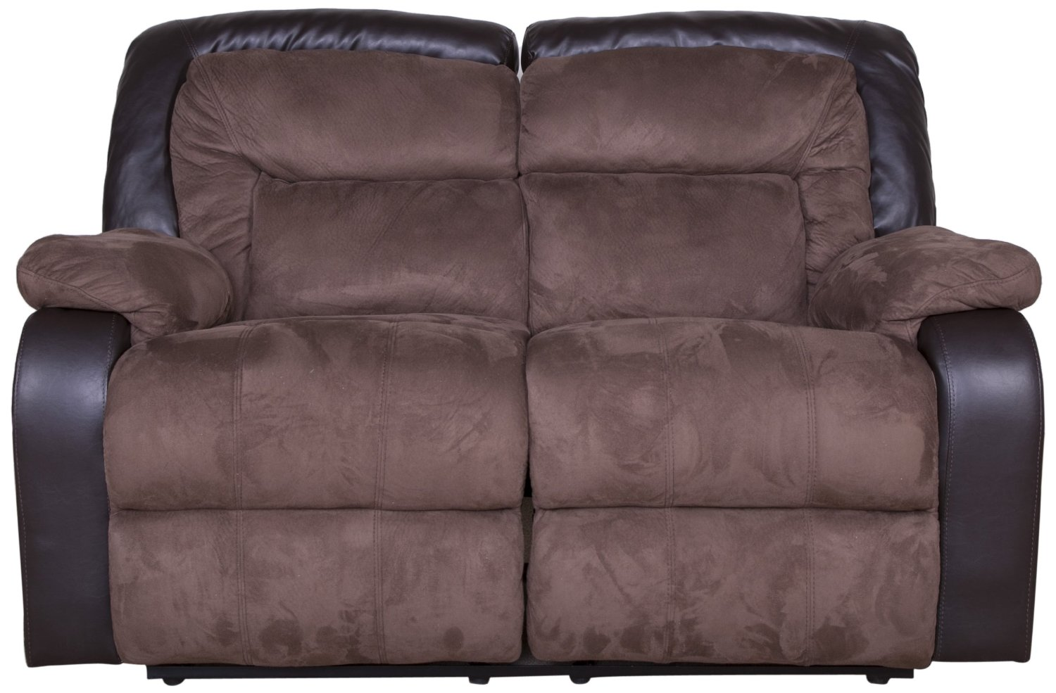 Presley Espresso Reclining Sectional Details Bed