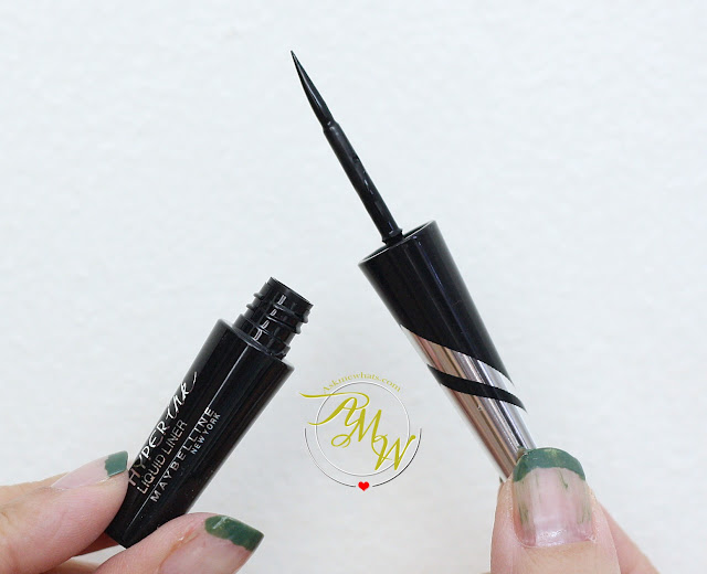a photo of Maybelline Hyper Ink Liquid Liner Review