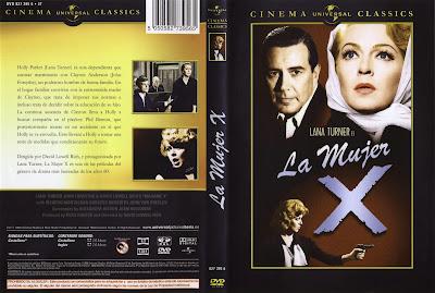 Carátula dvd: La mujer X (1966) (Madame X)