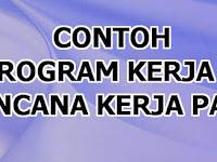 Contoh Program Kerja PAUD TK KB TPA Semester 2