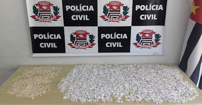 POLÍCIA CIVIL PRENDE MAIS UM TRAFICANTE DE DROGAS EM REGISTRO-SP