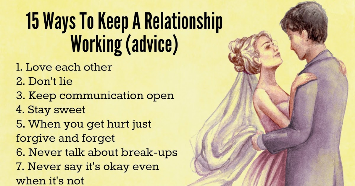 how to keep a relationship quotes