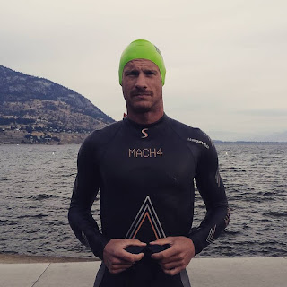 Professional triathlete and Ironman, Lionel Sanders