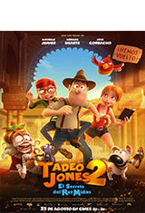 Tadeo Jones 2. El secreto del Rey Midas (2017) BDRip m1080p Español Castellano AC3 5.1