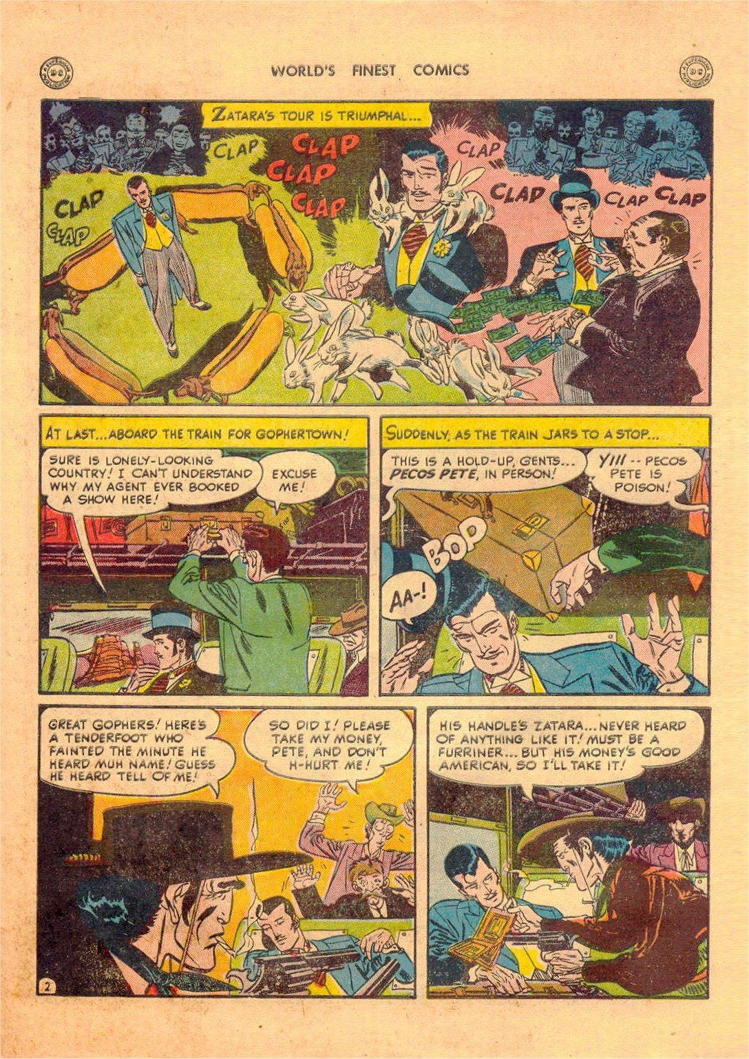 Read online World's Finest Comics comic -  Issue #42 - 54