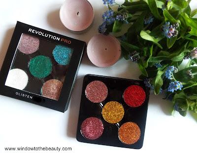 Revolution Pro Pressed Glitters