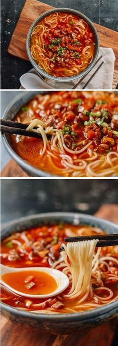 Shanghai Hot Sauce Noodles