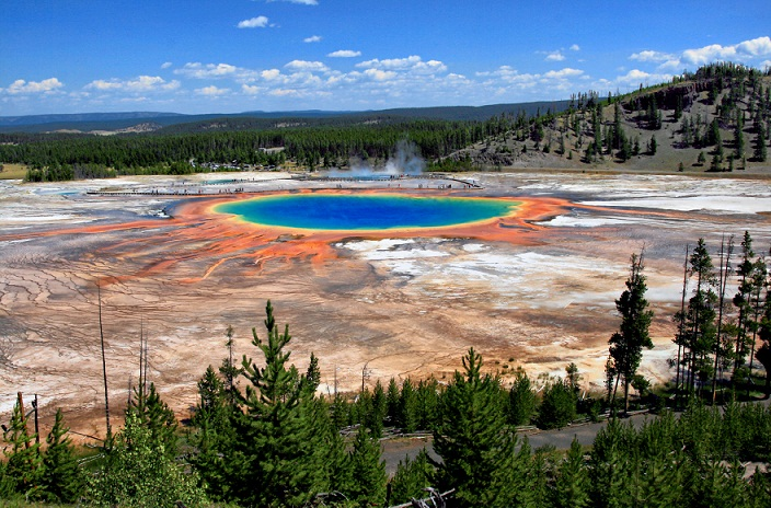 Grand Prismatic Spring, Sumber Air Panas Terbesar di AS