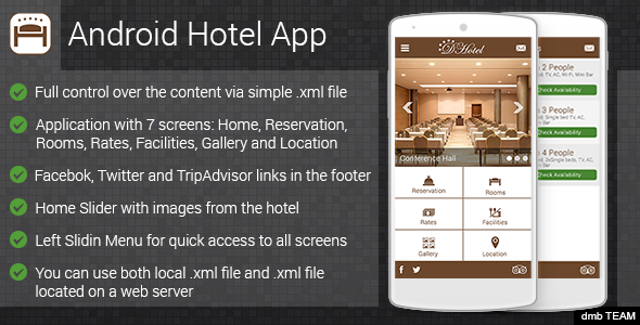 Android Hotel App v1 2 – Codecanyon 7219687   Theme Nulled