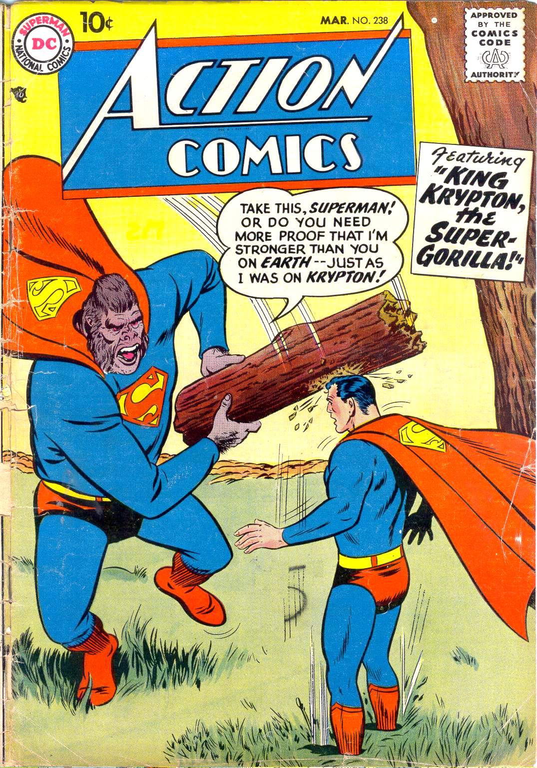 Read online Action Comics (1938) comic -  Issue #238 - 1