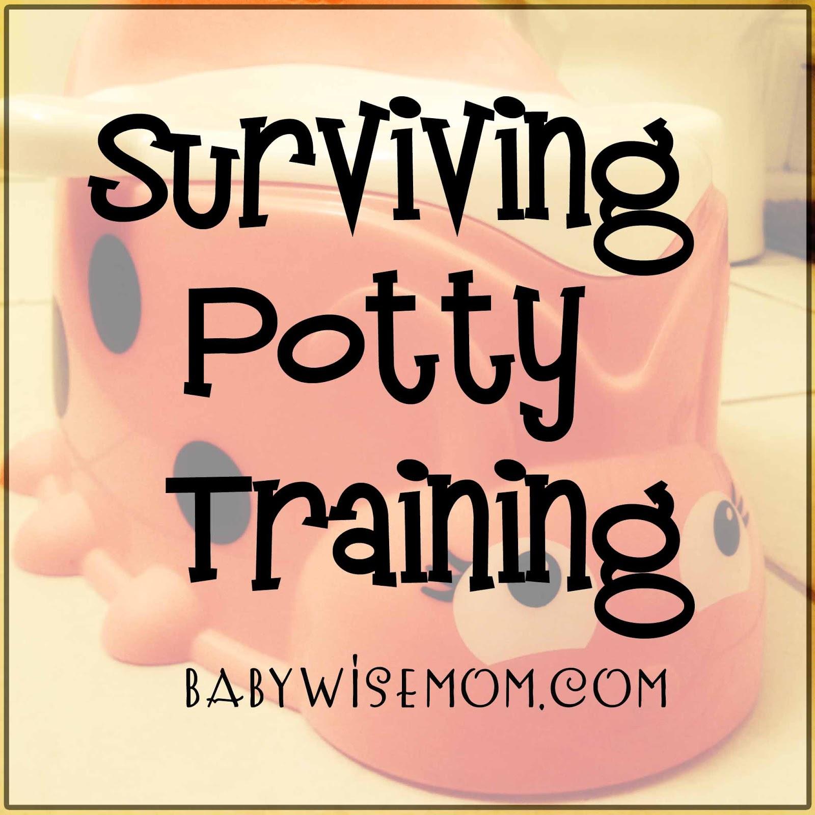 surviving potty training