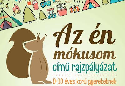 rajzpályázat gyermekeknek, SIC Feszt, HÁRIT, Zarah Moden, New Fashion, Az én mókusom,