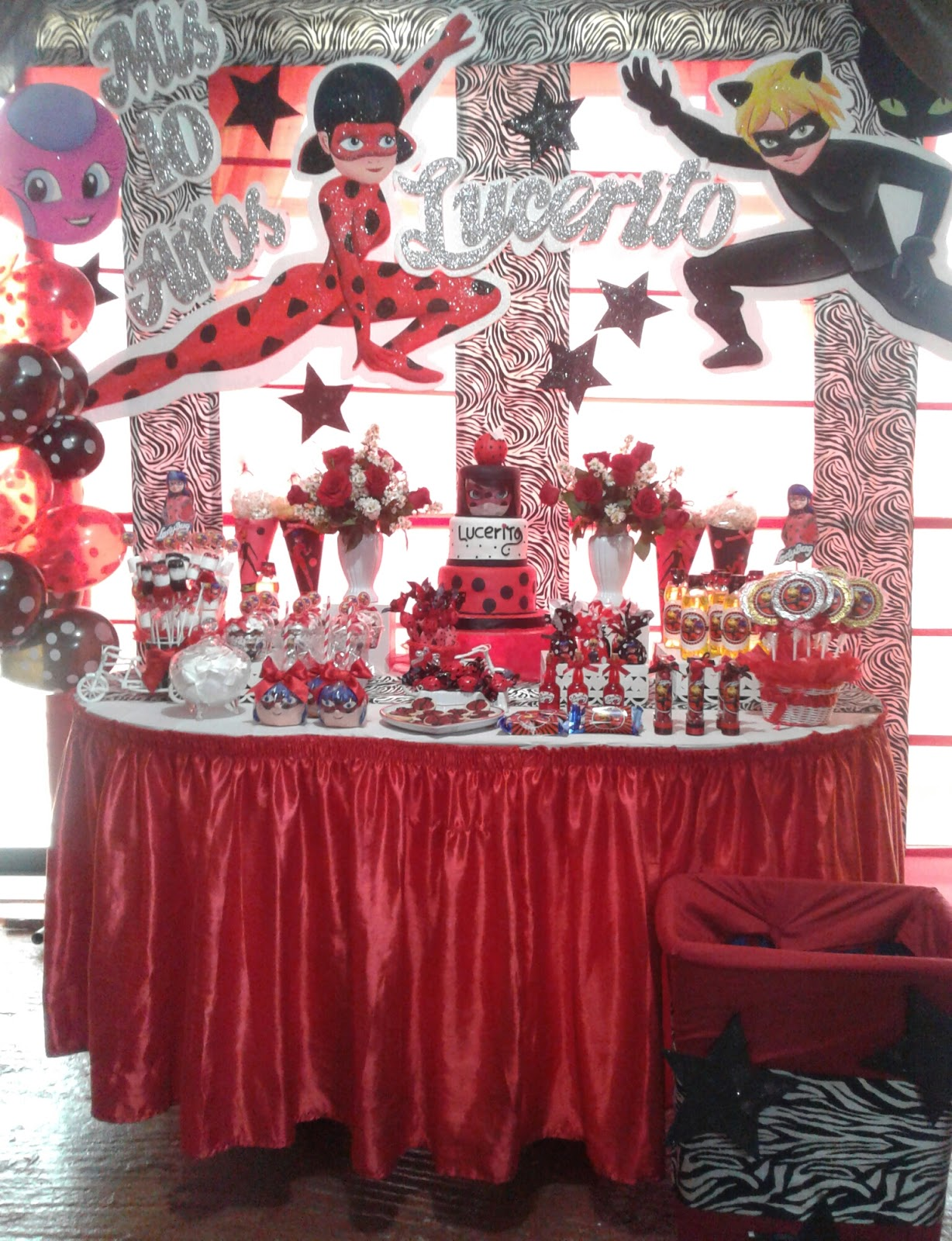 Fiesta infantil tematica ladybug jely - Fiesta infantil tematica ...