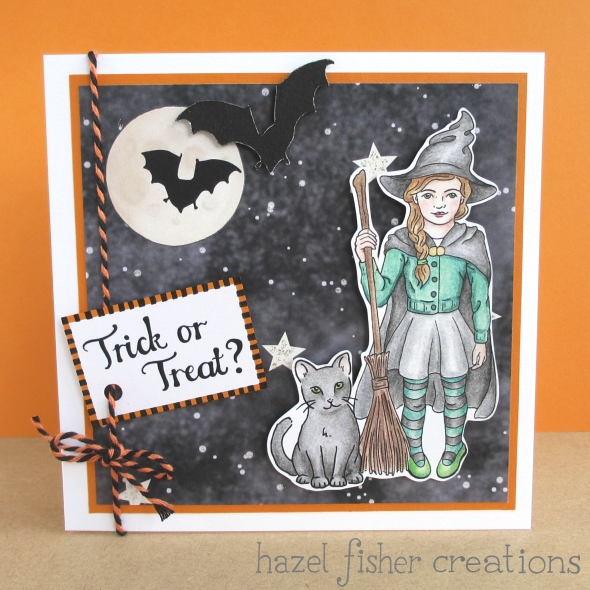 Halloween card hazelfishercreations