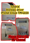 Tutorial Instalasi Driver Printer Epson TM-U220