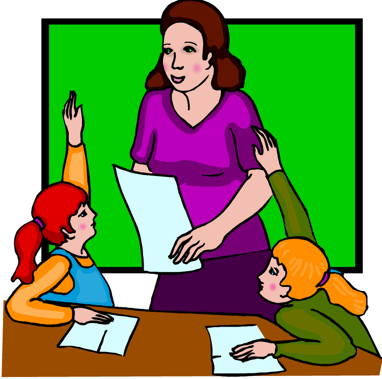 teacher and student clipart - photo #48