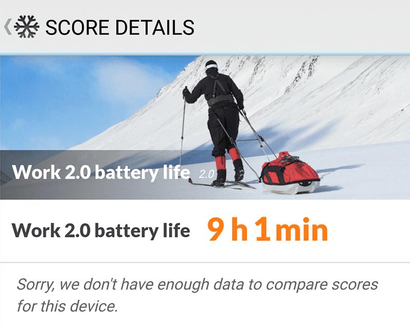 Huawei P20 lite battery benchmark