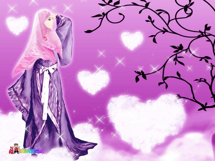 Gambar Kartun Muslimah Cantik Berkacamata: Nini Si Pelupa: Kartun Muslimah, Cantik Dengan Berjilbab