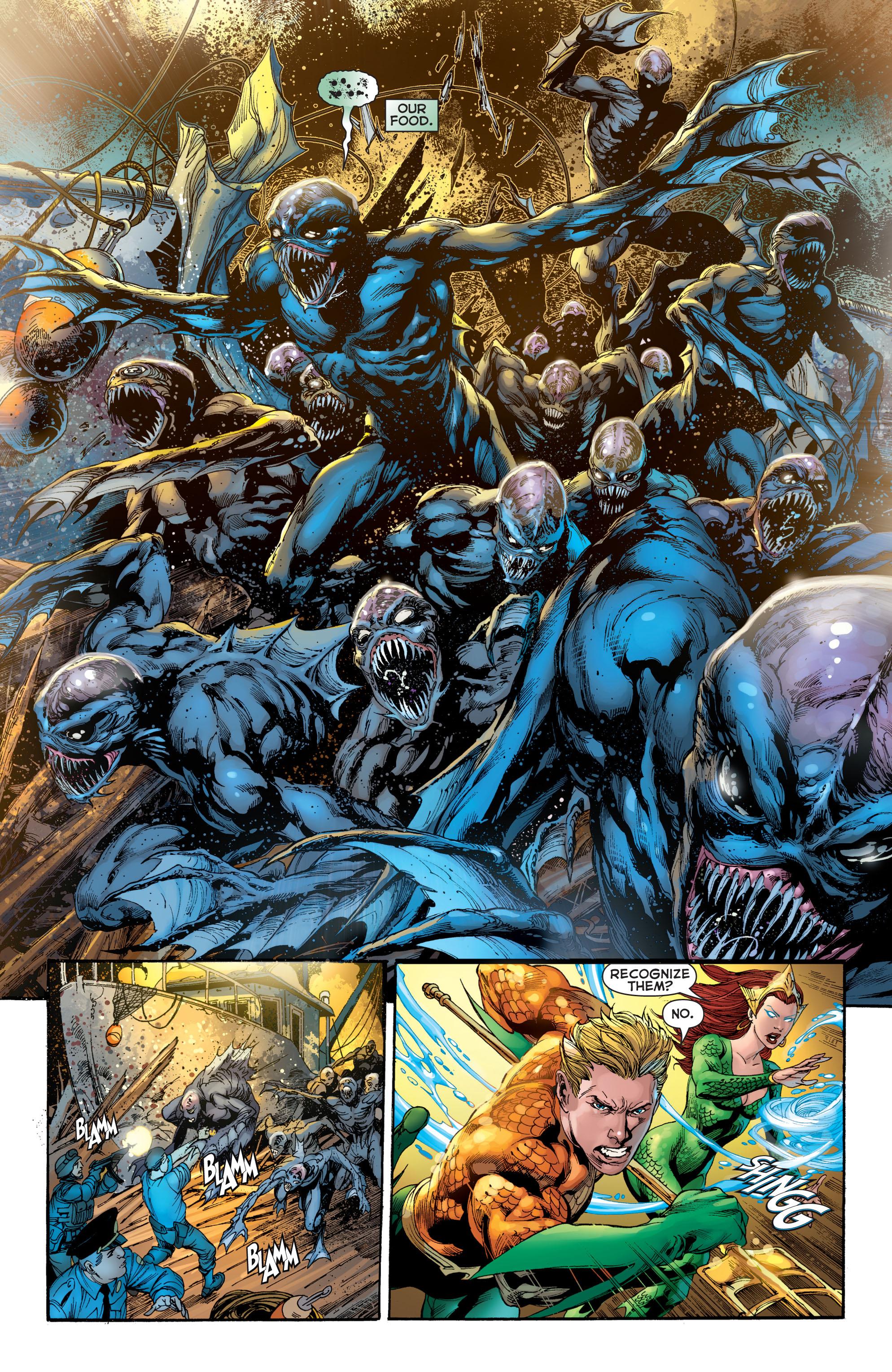 Read online Aquaman (2011) comic -  Issue #2 - 16