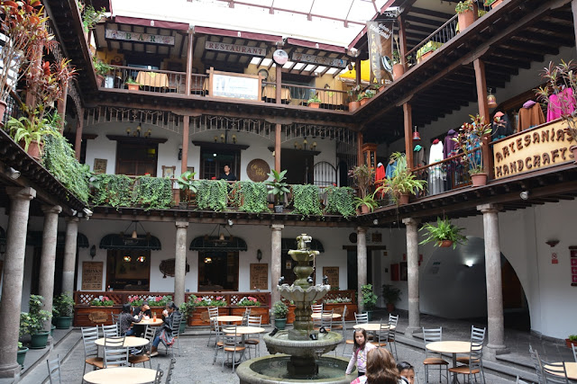 Quito courtyard