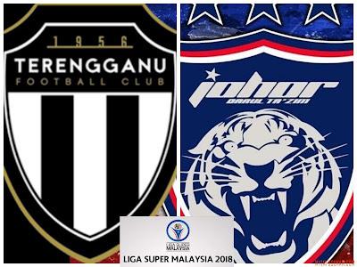 Live Streaming Terengganu FC vs JDT FC Liga Super 10 Mac 2018