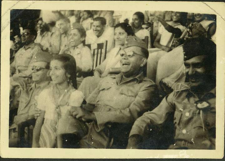 Subhas Chandra Bose 1940's